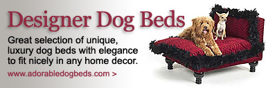 Adorable Designer Dog Beds