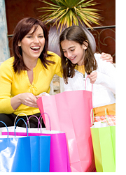 Shoppers and Shopping Bags